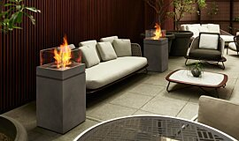 Merkmal Showroom Commercial Fireplaces Fire Pit Idea