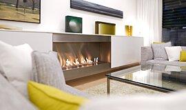 Paddington Residence Commercial Fireplaces Ethanol Burner Idea