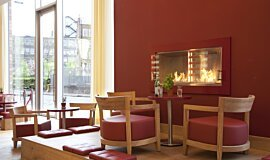 Vapiano, UK Commercial Fireplaces Fireplace Insert Idea