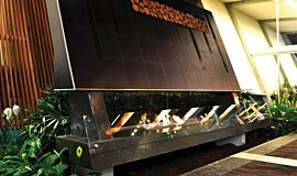 Calamvale Hotel, Sydney Hospitality Fireplaces Built-In Fire Idea