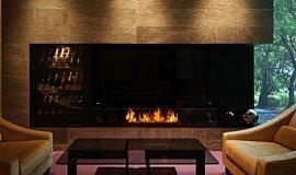 Salon de Louange Commercial Fireplaces 生物乙醇燃烧器 Idea