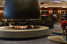 XL700 Ethanol Burner - In-Situ Image by EcoSmart Fire