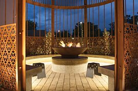 XL500 Ethanol Burner - In-Situ Image by EcoSmart Fire
