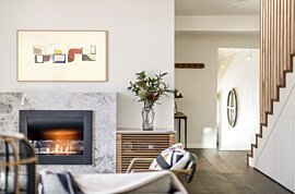 Firebox 720CV Built-In Fireplace - In-Situ Image by EcoSmart Fire