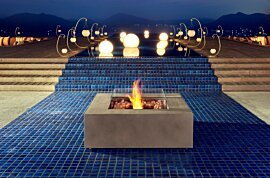 Base Indoor Fireplace - In-Situ Image by EcoSmart Fire