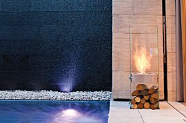 Ghost Indoor Fireplace - In-Situ Image by EcoSmart Fire