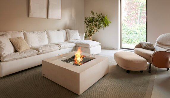Private Residence - Base Fire Table by EcoSmart Fire