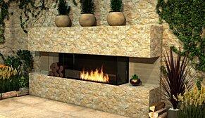 Flex 50BY.BXR Flex Fireplace - In-Situ Image by EcoSmart Fire