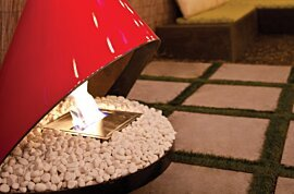 Decorative Media - In-Situ Image by EcoSmart Fire