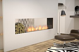 Double Sided Fireplace - In-Situ Image by EcoSmart Fire